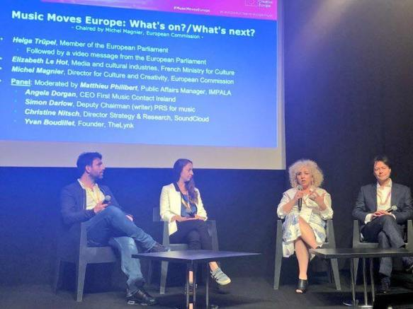 #MIDEM 2018 Music Moves Europe